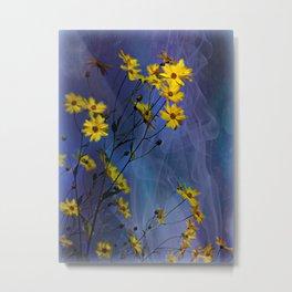 Gelbe Blüten Metal Print