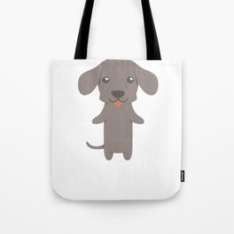 I Just Freaking Love Weimaraners Tote Bag