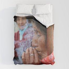 Fumando en las alturas Comforters