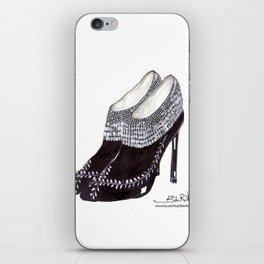 Manolos so French  iPhone Skin