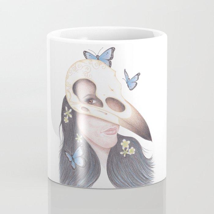 Crow Coffee Mug