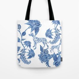 BLUE BATIK WEIMS Tote Bag