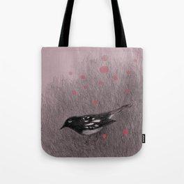 Pink Snow Tote Bag