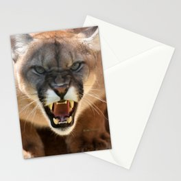 ONE MAD CAT Stationery Cards