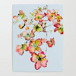 shiney petals Poster