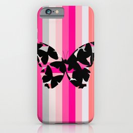 The Invisible Butterfly iPhone Case