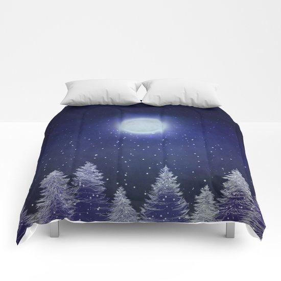 Winter song. Comforters