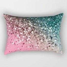 Tropical Watermelon Glitter #2 #decor #art #society6 Rectangular Pillow