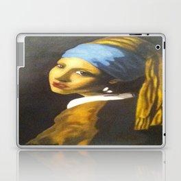 Girl with the Pearl Earring Original Laptop & iPad Skin
