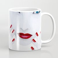 milk Mugs featuring Milk by Fabsdolls