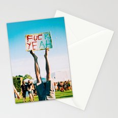 F Yeah Stationery Cards