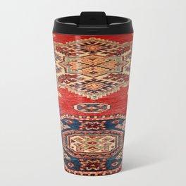Natural Dyed Handmade Anatolian Carpet Travel Mug