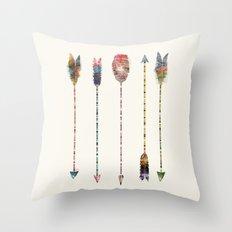 native earth arrows Throw Pillow