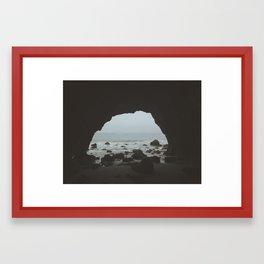 That Malibu Cave  Framed Art Print