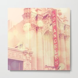 Los Angeles Theatre photograph Metal Print