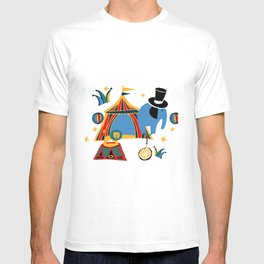 Circus Fun white T-shirt
