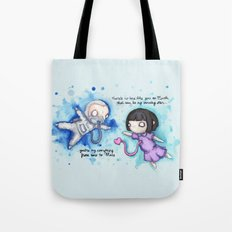 Here To Mars Tote Bag