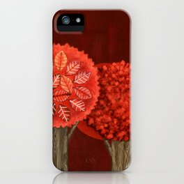 Red Grove iPhone Case