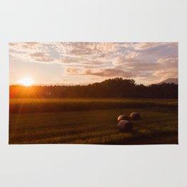 Rural Sunset Rug