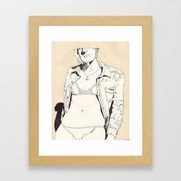 fig ddd Framed Art Print