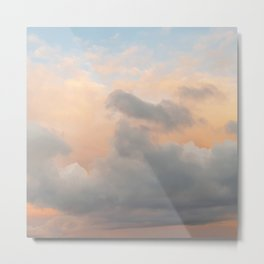 Colourful Sunset Clouds Metal Print