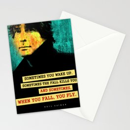 Neil Gaiman Quote Stationery Cards