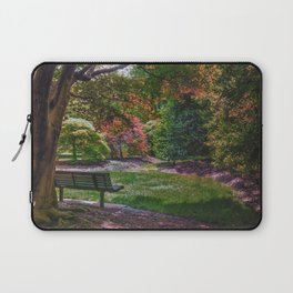 The Park Bench Laptop Sleeve