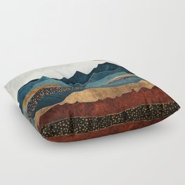 Amber Dusk Floor Pillow