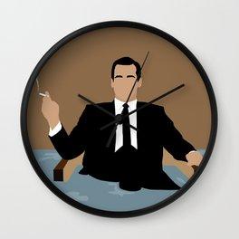Don Draper Mad Men Wall Clock