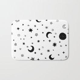 Moons & stars Bath Mat