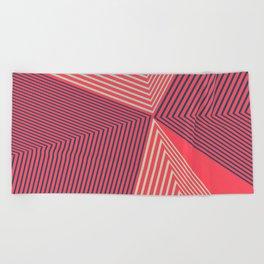Geometric Design No1 Beach Towel