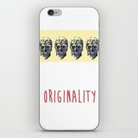skulls iPhone & iPod Skins featuring Skulls  by SofRusso