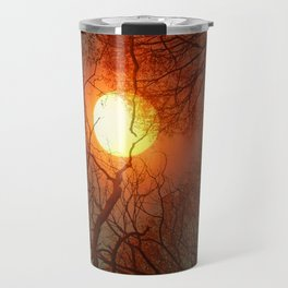 Sun and Trees and Trees and Sun Travel Mug