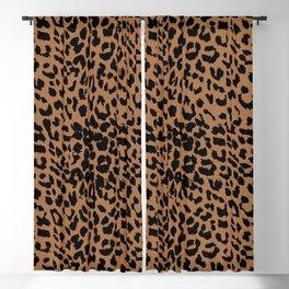 Leopard Meerkat Brown Blackout Curtain