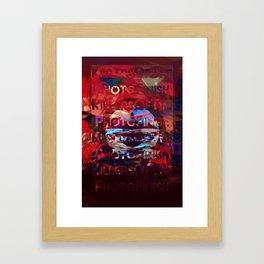 Killers Of The Photo Finish Framed Art Print