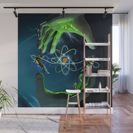 The Atom Control Wall Mural