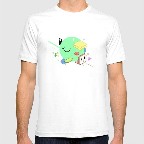 Tasty Visuals - Sandwich Time (No Grid) T-shirt