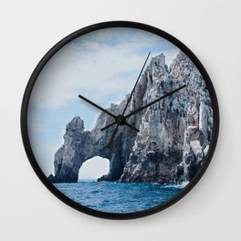 The Arch of Cabo San Lucas Photography Print Wall Clock