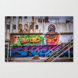 Urban Diver Canvas Print
