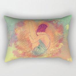 Diving Rectangular Pillow