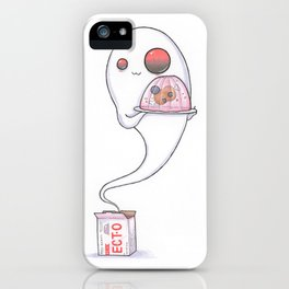 Jell-O Ghost (Ectoplasm) iPhone Case