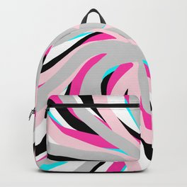 Geometric vane decor. abstract. colorful.1  Backpack