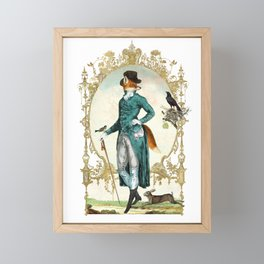 Mr Fox Framed Mini Art Print