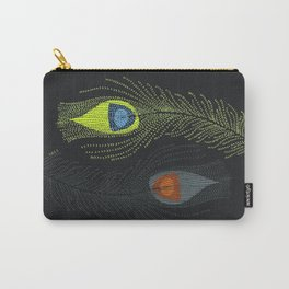Prancing Peacock Carry-All Pouch