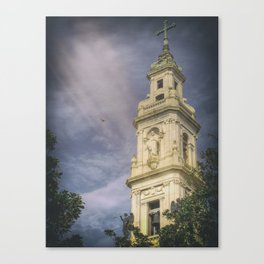 Bell Tower of the Sanctuary of the Blessed Virgin of the Rosary Canvas Print