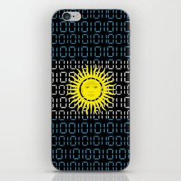 digital Flag (Argentina) iPhone Skin