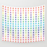 dots Wall Tapestries featuring DOTS by C O R N E L L