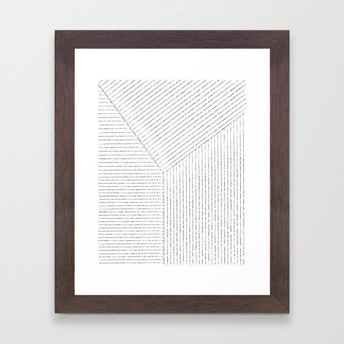Lines Art Framed Art Print