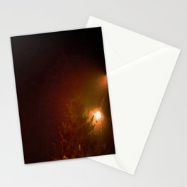 A Cold Winter Night Stationery Cards