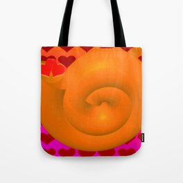 A snail shell for two ... Tote Bag